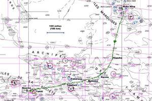 Navigation Marquises-Tahiti, traversée des Tuamotu