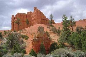Utah : Red Canyon, en route vers Bryce Canyon