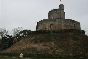 Château fort de Gisors...