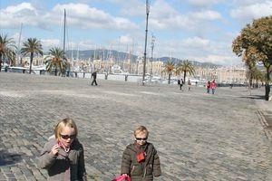 Barcelone - Jour 2 - La plage...