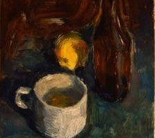 Bière, citron et café