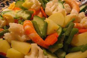 Gado-gado, salade de légumes à l'indonésienne