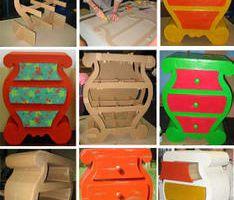Des meubles en carton !!