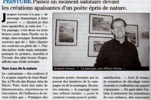 """""""Paysages"""" après février 2008"""