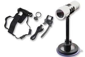 La caméra qui vous suit partout, par tous les temps!