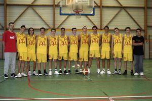 Photo des Cadets 2006-2007