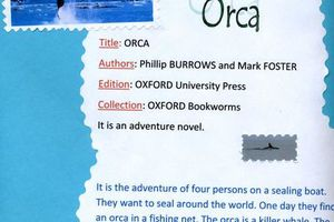 Orca, a book review by Anna (6°3) & Manon (6°2)