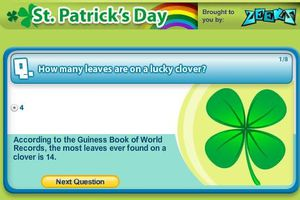 St Patrick's Day (quizzes, games, puzzles, colouring...)