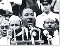 "MLK ""I have a dream..."" (Washington D.C., August 28th, 1963)"