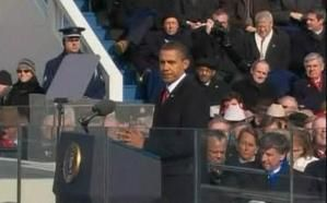 "Obama's first speech as US President ! ""...We've chosen HOPE over fear...""(BBC Video)"