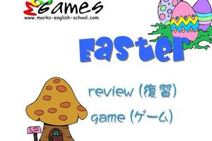 Easter (review vocabulary + game)