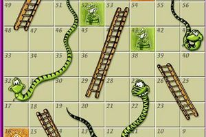 Snakes & Ladders (a game to learn irregular verbs !)