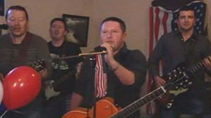 There's no one as Irish as Barack Obama ! A song by Hardy Drew & The Nancy Boys