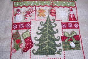 SAL Petits Coeurs de Noël 8ème Partie