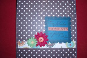 Scrapbooking Mon 1er Mini Album