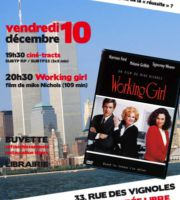 Paris : Ciné Sub-version, CNT, Working girl, de Mike Nichols