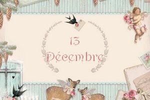 Calendrier de l'avent 2013 - 13 décembre