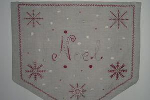 """Bannière """"Noël"""" du Chat dans l'Aiguille"""