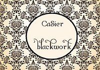 Casier au blackwork 9 et fin....