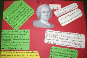 Exposition sur l'Europe des Lumières : Rousseau