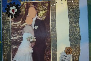 Une page mariage