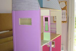 Maison de Barbie : Les extérieurs...
