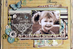 Beauty... DT fée du scrap