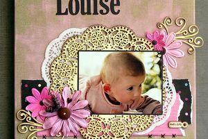 Louise... Réa embelliscrap