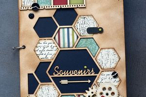 "Album ""hexagone"" EmbelliScrap"
