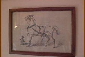 A cheval .... !