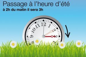 Attention : changement d'heures....