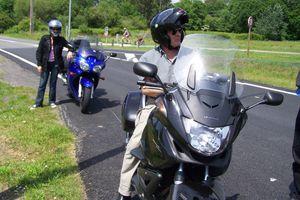 Le Cap Ferret en moto.