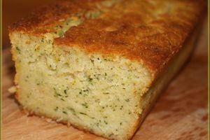 Cake à la Courgette et à la Ricotta ... et oui du sucré!!!