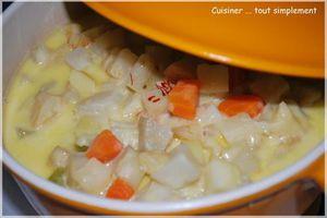 Des légumes oubliés dans une soupe ...
