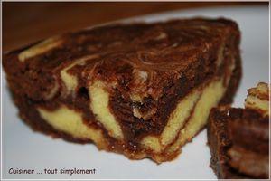 Marbré Chocolat au Lait au micro-ondes