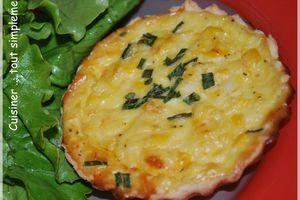 Tartelettes Maïs - Crabe