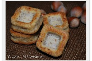 Financiers Noisettes