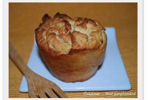 Muffins Haricot Blanc - Courgette