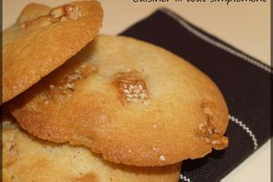 Cookies au Nougat Chinois