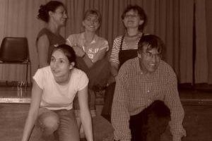 En 2008, des saynètes de Thierry François,  à l'Atelier théâtre-adultes du Centre culturel de Queuleu