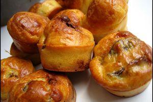 Mini-cakes au magret séché et aux figues