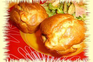 Muffins au chèvre et au pesto