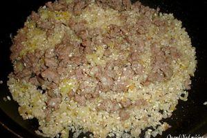 Poivrons farcis au risotto