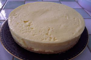Cheesecake au citron (sans cuisson)