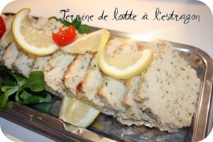 Terrine de sole à l'estragon