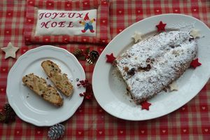 Christstollen - Pain de Noël aux fruits secs et confits