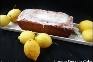 Lemon drizzle cake (Quatre-quart au citron)