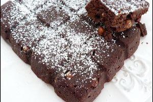 Brownie aux noix, noix de pécan ou noisettes