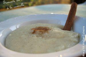 Semoule au lait à la Cannelle_Cook'in®