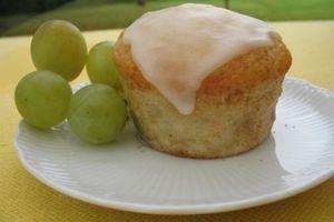 Muffins Raisin Pâte d'Amandes